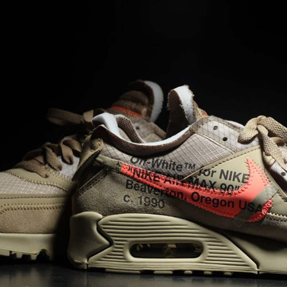 "save off dec5c 1464e Nike Air Max 90 x Off-White ""Desert Ore"""